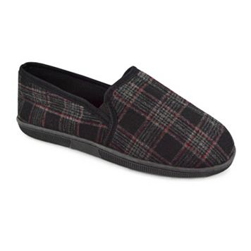 MUK LUKS Men's Plaid Slippers