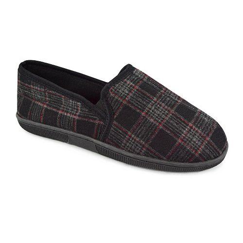 MUK LUKS Men's Plaid Slippers