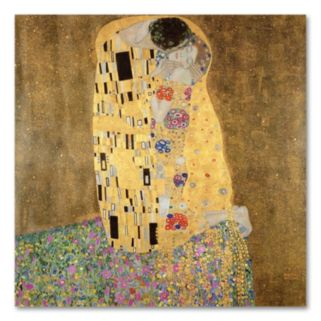 The Kiss 1907-8 Canvas Wall Art by Gustav Klimt