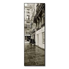 'Hotel in Paris' Canvas Wall Art by Preston