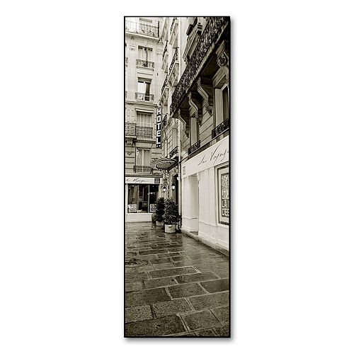 """Hotel in Paris"" Canvas Wall Art by Preston"