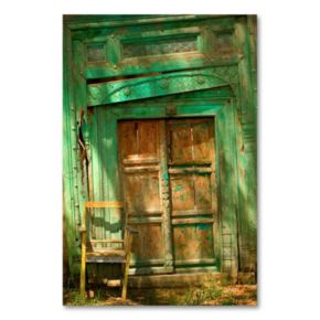 Temple Door Canvas Wall Art by AIANA