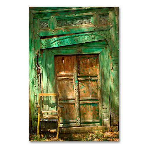 """Temple Door"" Canvas Wall Art by AIANA"