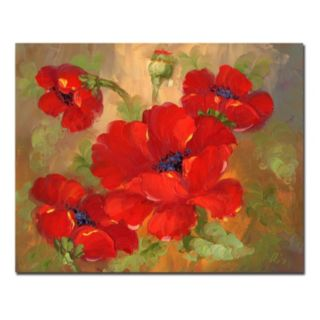 "26'' x 32'' ""Poppies"" Canvas Wall Art"