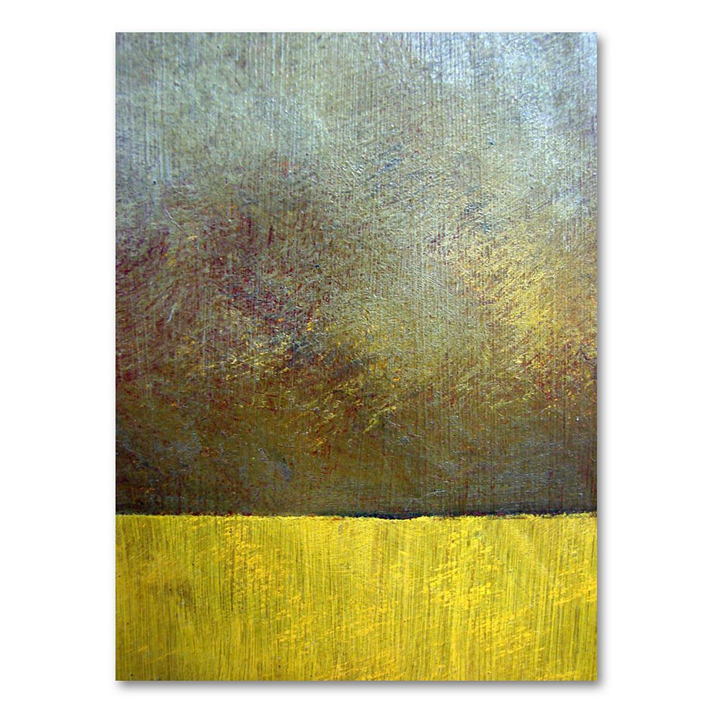 """""""Eh Study II"""" 47"""" x 35"""" Canvas Wall Art by Michelle Calkins"""