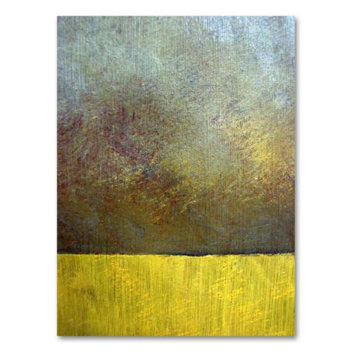 Eh Study II 47 x 35 Canvas Wall Art by Michelle Calkins