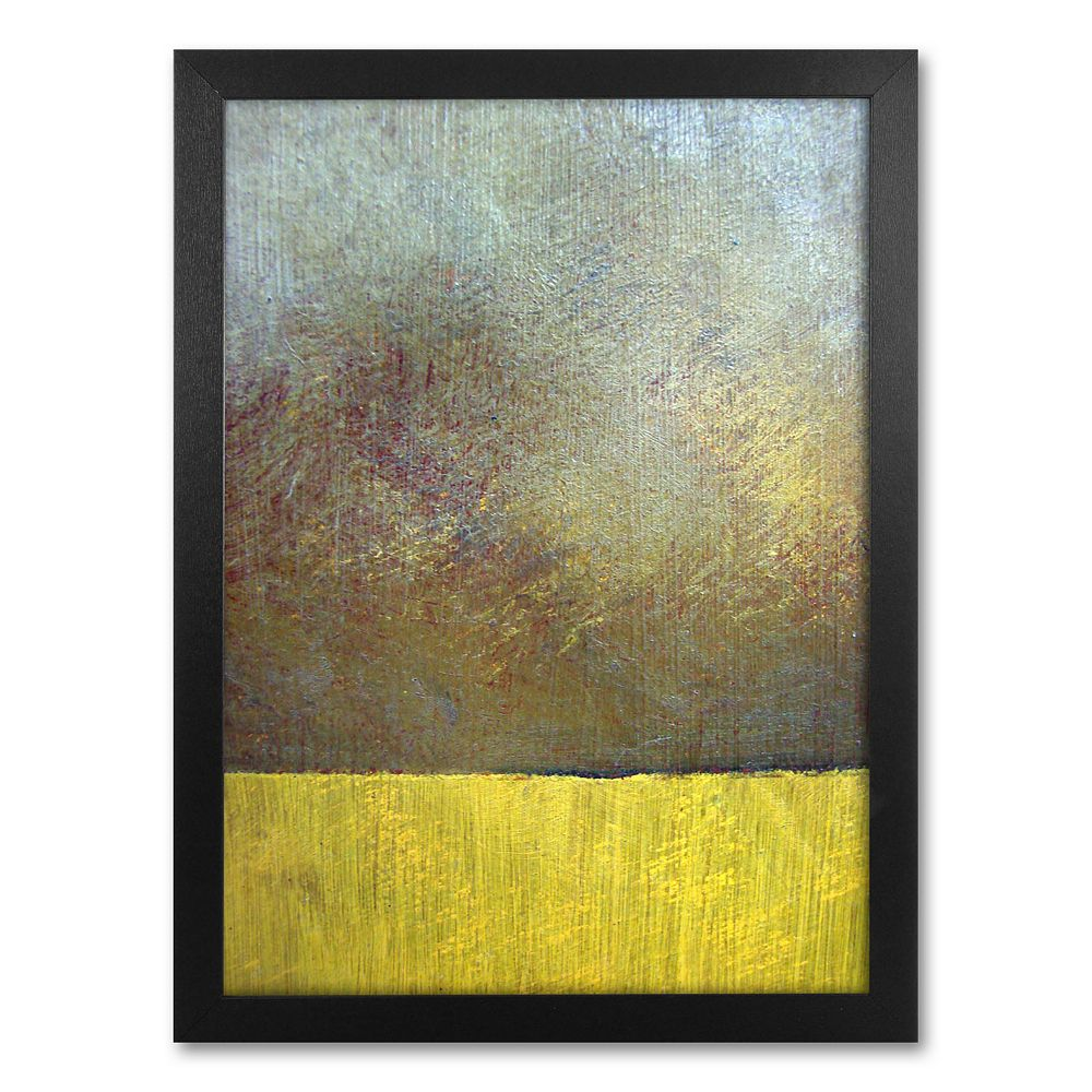 """""""Eh Study II"""" Framed Canvas Wall Art by Michelle Calkins"""