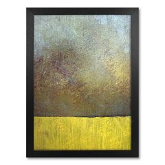 'Eh Study II' Framed Canvas Wall Art by Michelle Calkins