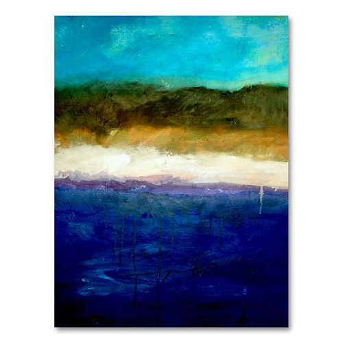 """Abstract Dunes Study"" Canvas Wall Art by Michelle Calkins"