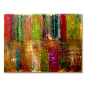 Color Abstract Canvas Wall Art by Michelle Calkins
