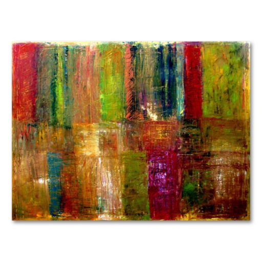 ''Color Abstract'' Large Canvas Wall Art by Michelle Calkins