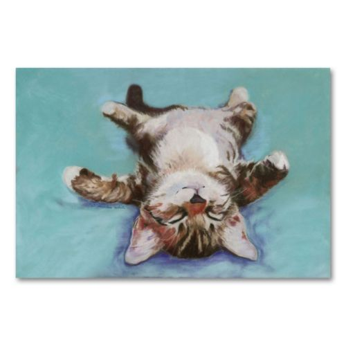 Little Napper Canvas Wall Art by Pat Saunders-White