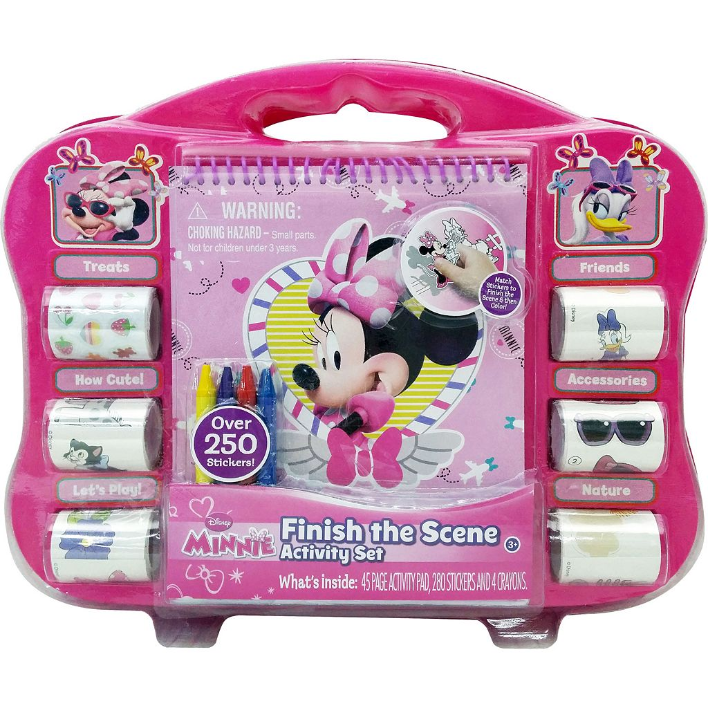 Disney Mickey Mouse & Friends Minnie Mouse Bow-tique Sticker Activity Set