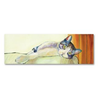 Sunbather Canvas Wall Art by Pat Saunders-White