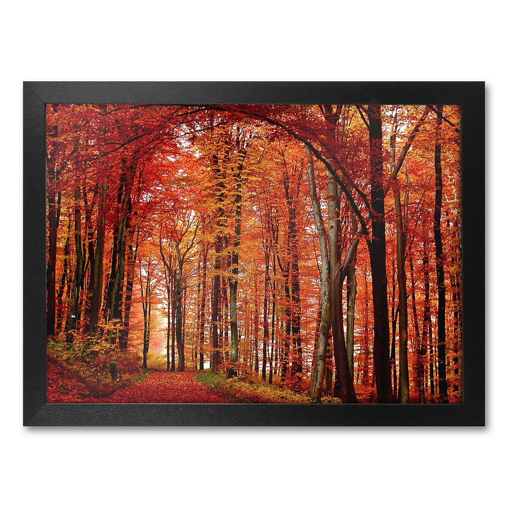 """""""The Red Way"""" Framed Canvas Wall Art by Philippe Sainte-Laudy"""