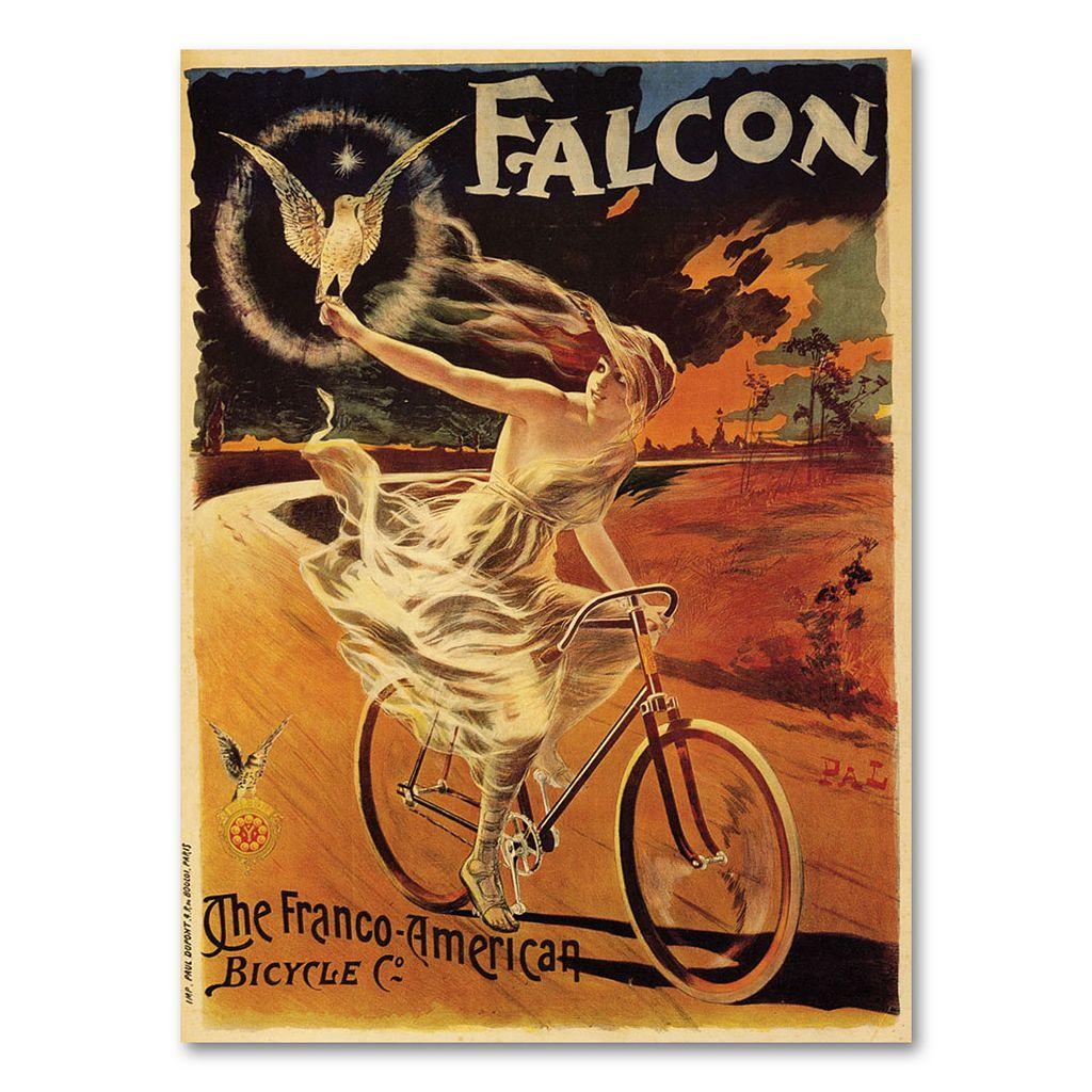 ''Falcon'' Canvas Wall Art by Pal