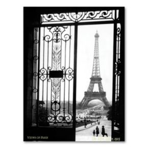 ''Views of Paris'' 19'' x 14'' Canvas Wall Art by Sally Gall