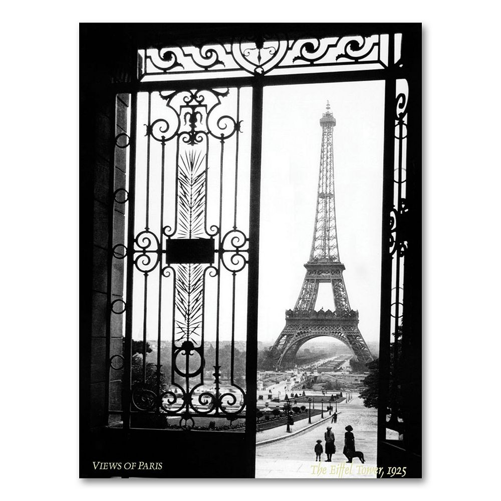 ''Views of Paris'' Canvas Wall Art by Sally Gall