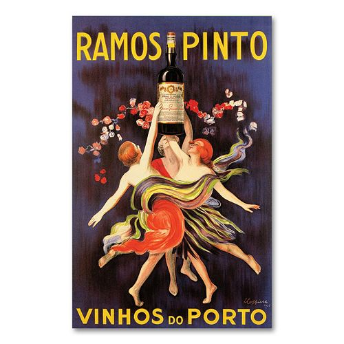 """Ramos Pinto Vinhos do Porto"" Canvas Wall Art"