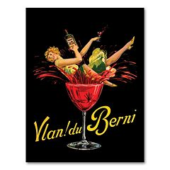 'Vlan Du Berni' Canvas Wall Art