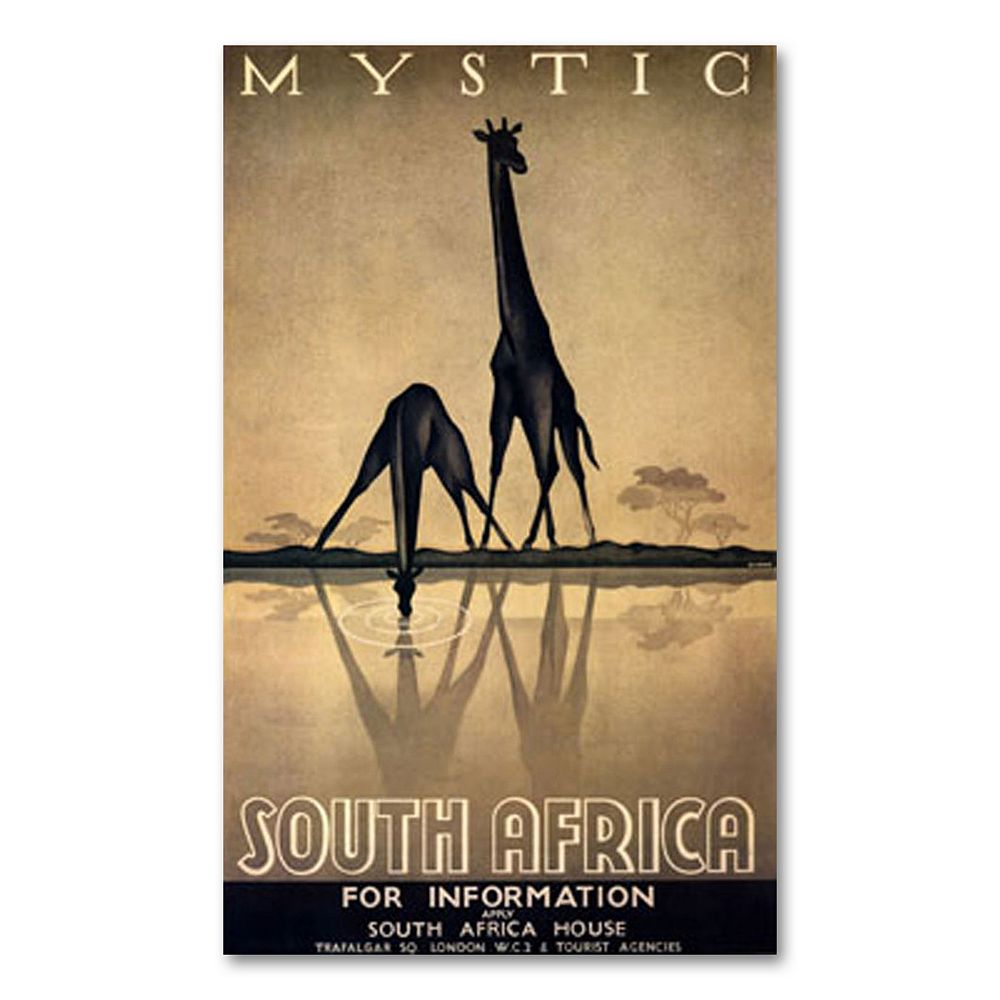 """""""Mystic South Africa"""" by Gayle Ullman Canvas Wall Art"""