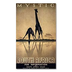 'Mystic South Africa' by Gayle Ullman Canvas Wall Art