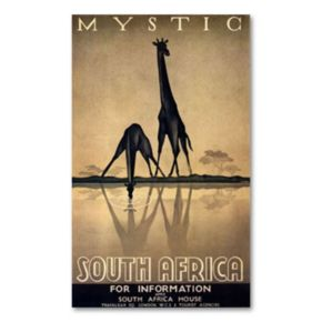 Mystic South Africa by Gayle Ullman Canvas Wall Art