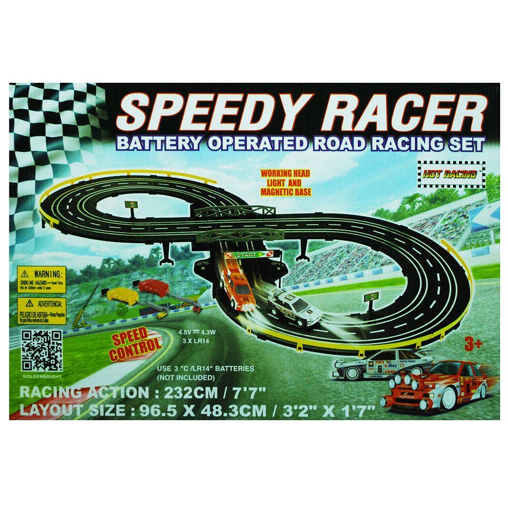 Speedy Racer Road Racing Set