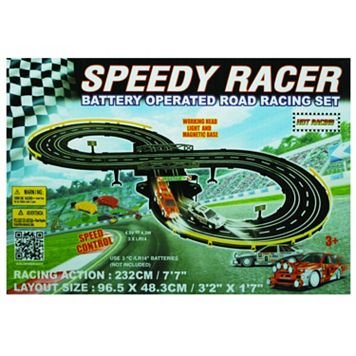 Speedy Racer Road Racing Set