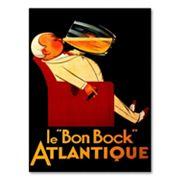 'Le 'Bon Bock' Atlantique' Canvas Wall Art