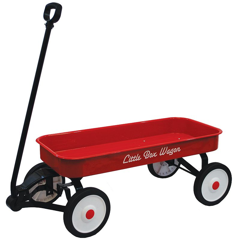 Grand Forward Little Box 34-in. Metal Wagon, Red