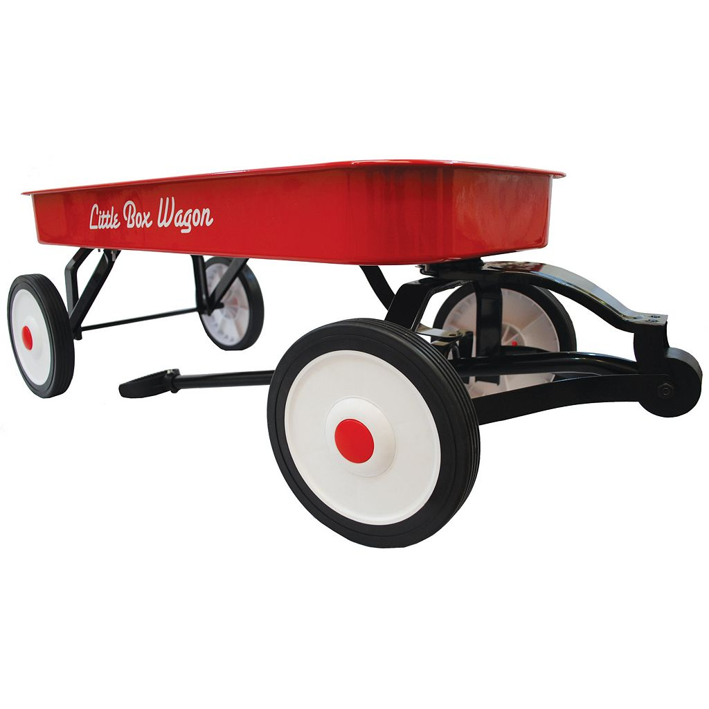 Grand Forward Little Box 34-in. Metal Wagon