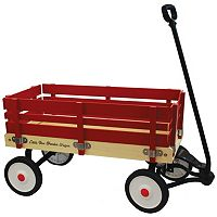 Grand Forward Little Box 34 in Wooden Wagon