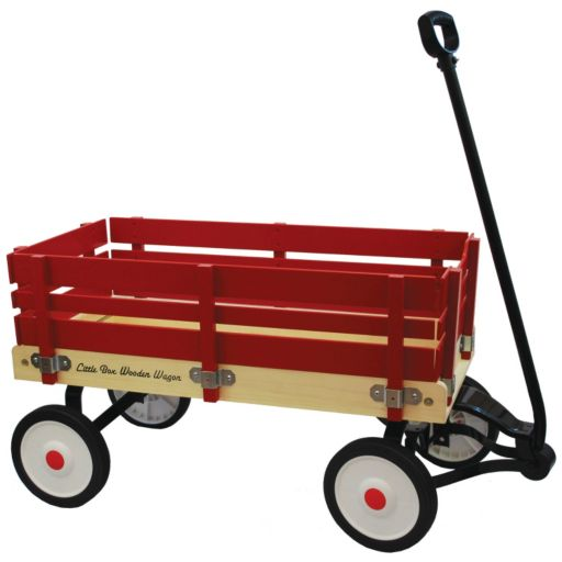 Grand Forward Little Box 34-in. Wooden Wagon