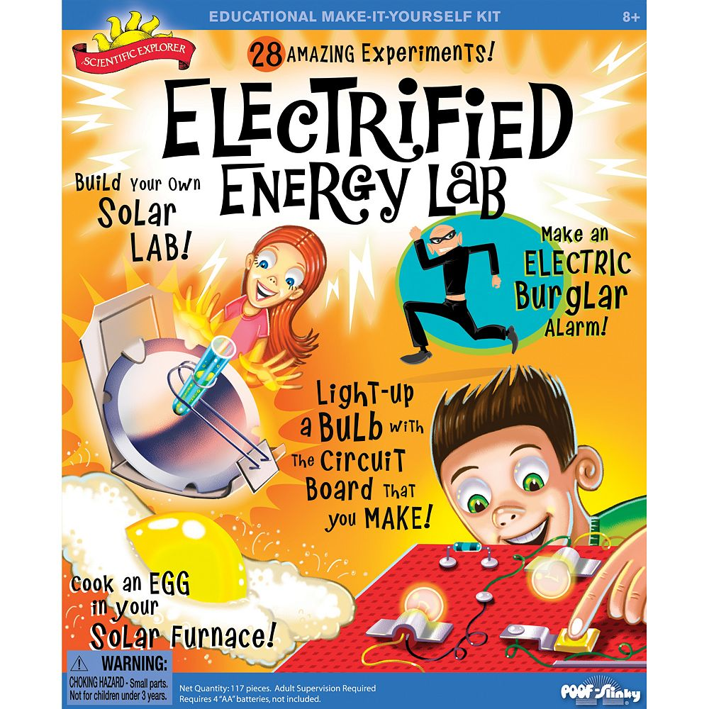 Scientific Explorer Electrified Energy Lab Kit