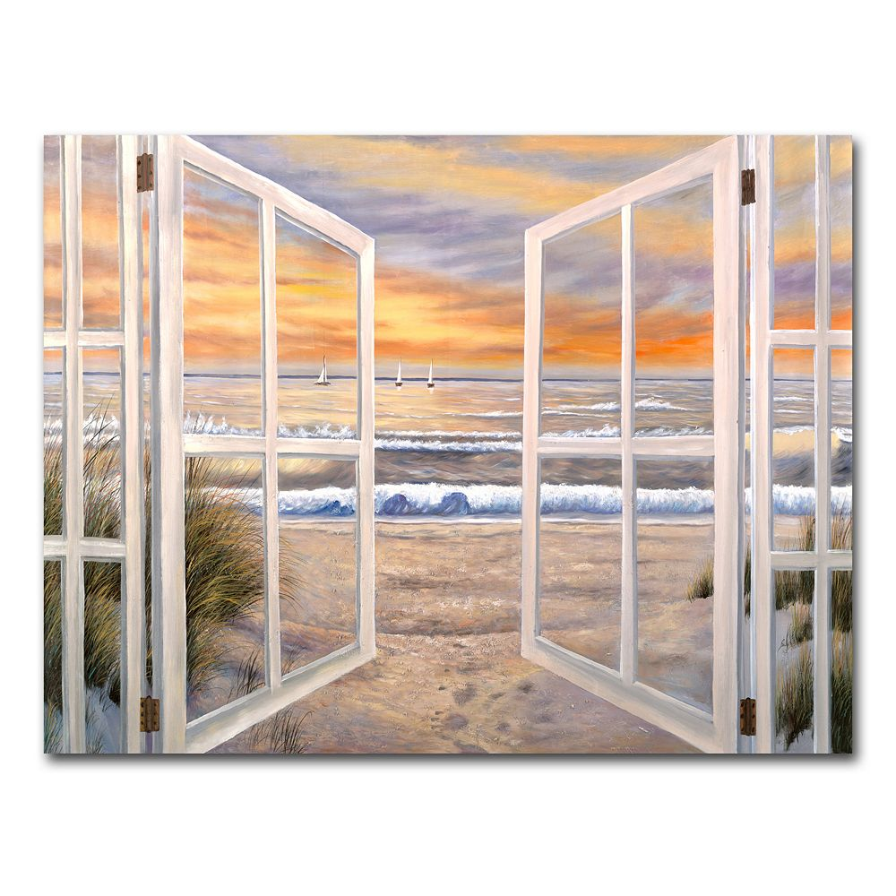 """Elongated Window"" by Joval Canvas Wall Art"