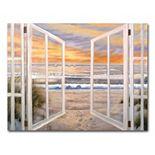 """Elongated Window"" by Joval Canvas Wall Art"