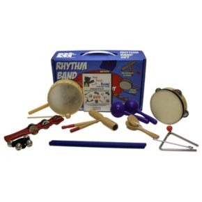 Rhythm Band Bing Bang Boom Percussion Set with DVD