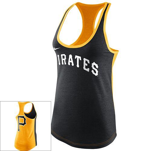 74cfced3 Women's Nike Pittsburgh Pirates Racerback Tank