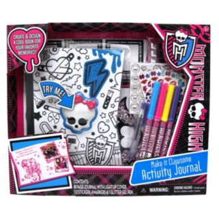 Monster High Make it Clawsome Activity Journal