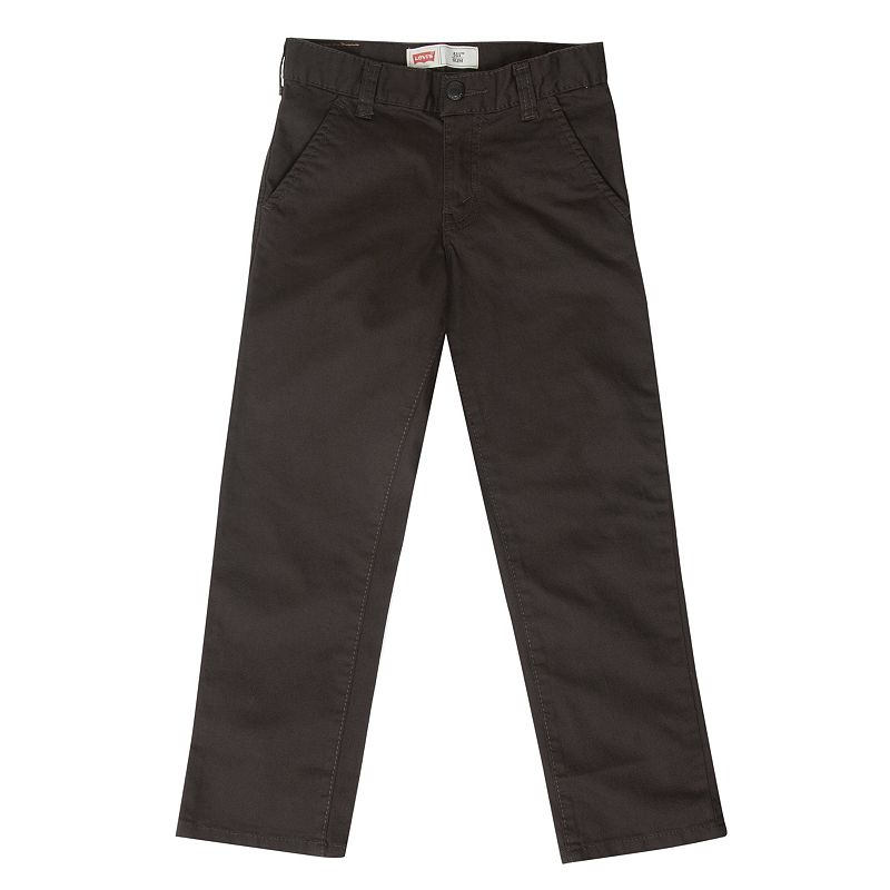 Levi's 511 Slim Fit Trouser Pants - Boys 4-7x (Grey)