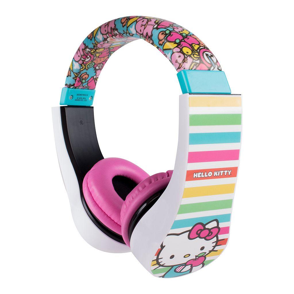Hello Kitty Character Headphones
