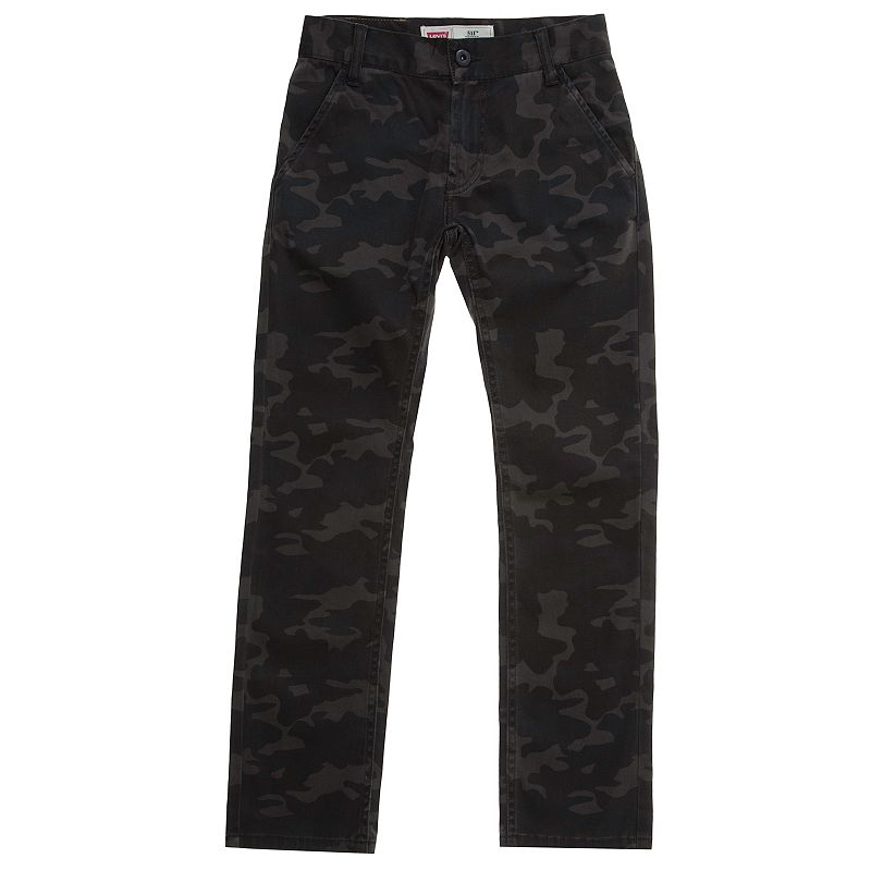 Levi's 511 Slim Fit Trouser Pants - Boys 4-7x (Green)