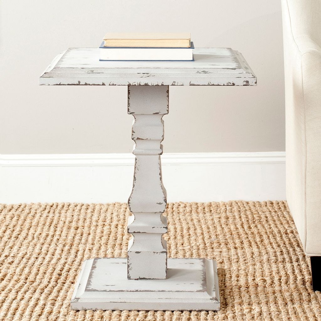 Safavieh Angela Pedestal Side Table