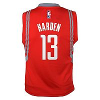 adidas Houston Rockets James Harden NBA Jersey - Boys 8-20