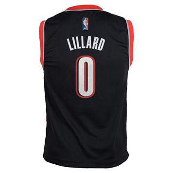 Boys 8-20 adidas Portland Trail Blazers Damian Lillard NBA Replica Jersey