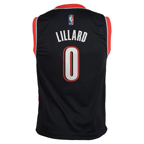 timeless design 17ee8 4e694 Boys 8-20 adidas Portland Trail Blazers Damian Lillard NBA ...