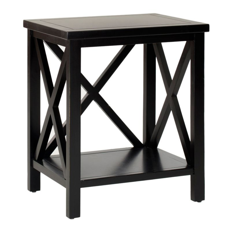 Safavieh Candence End Table, Black