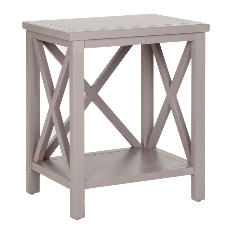 Safavieh Candence End Table, Grey