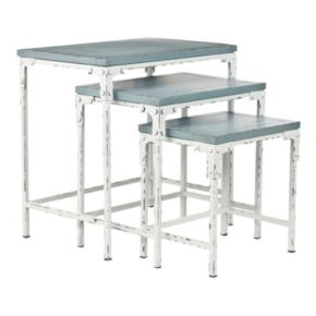 Safavieh Timmy 3-pc. Stacking Table Set
